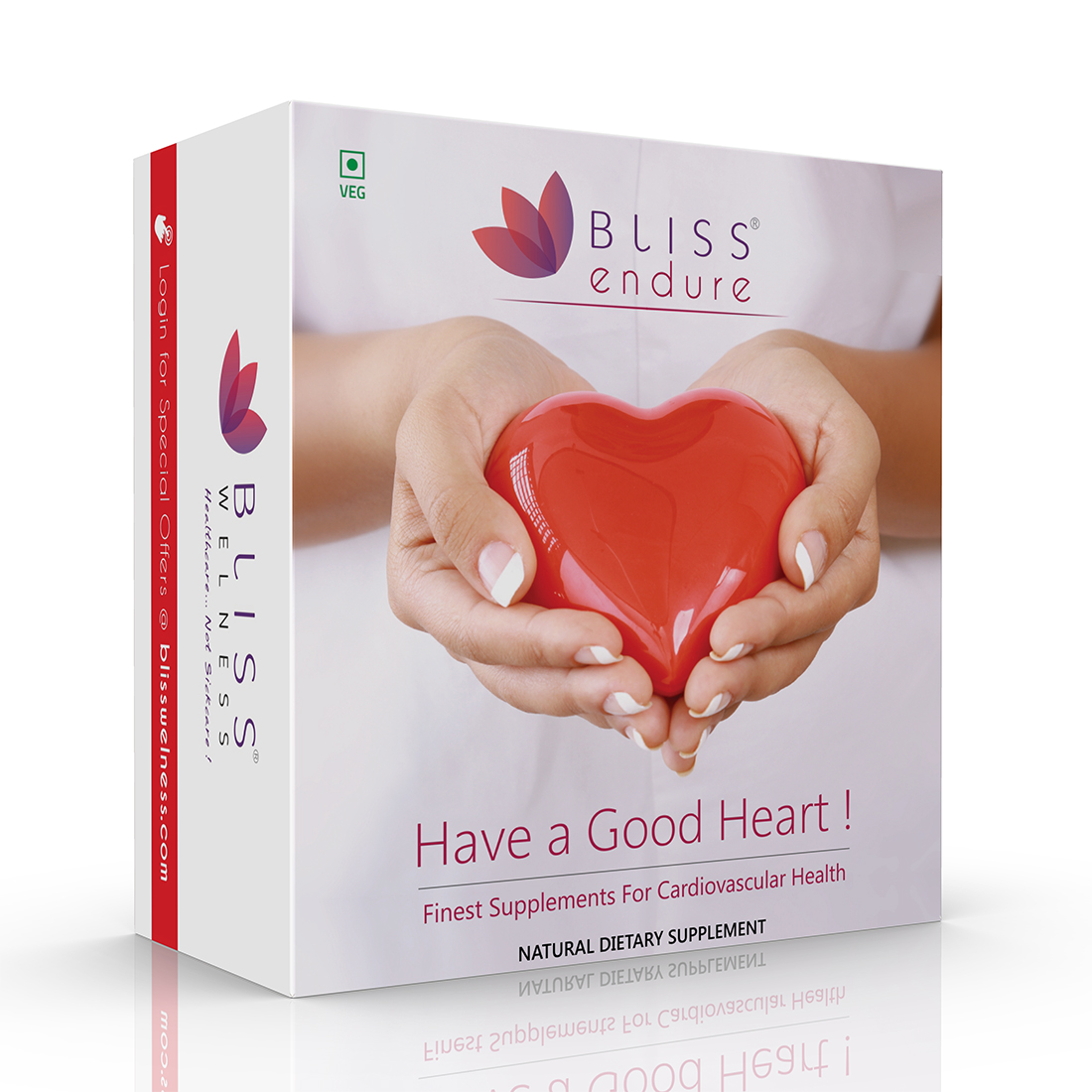 Bliss Welness Endure Bliss Omega 3 6 9 + Phytosterols Heart Health Combo for Lipid Care - 2 Bottles (60 Capsules)